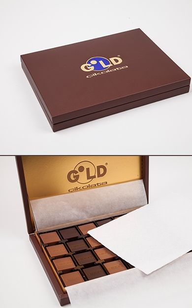 Gold kahve 750gr ikolata kutusu for Divan madlen 750 gr